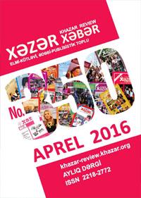 Xəzər Xəbər – Aprel 2016