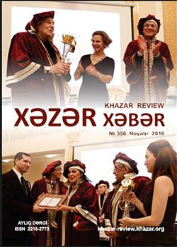 Xəzər Xəbər – Noyabr 2016