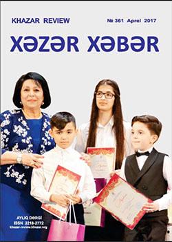 Xəzər Xəbər – Aprel 2017